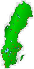 Sverige karta
